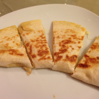 Two Cheese Quesadillas.
