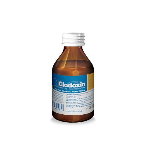 Metoclopramida + Vitamina B6 Clodoxin 1-10 mg/mL Gotas x 30 mL