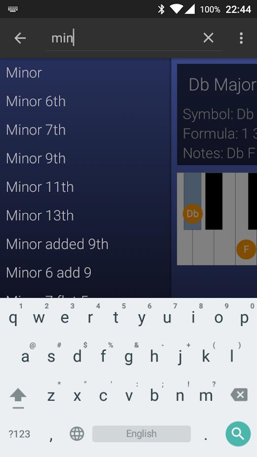 My Piano Assistant - screenshot