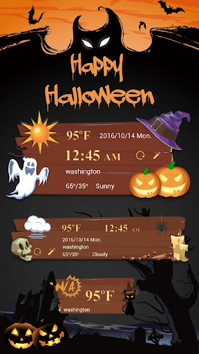 免費下載個人化APP|Happy Halloween Weather Widget app開箱文|APP開箱王