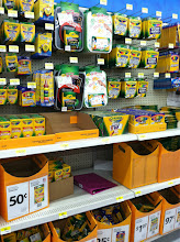 Photo: Back to school supplies were right there as we entered our local Walmart.