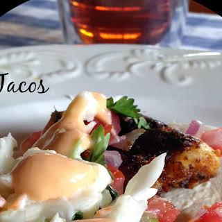 Baja Fish Tacos.
