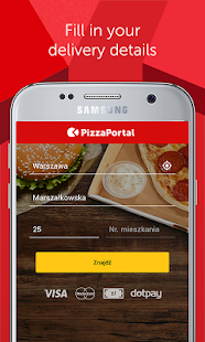 PizzaPortal - Takeaway Food- screenshot thumbnail