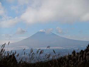 Photo: 長尾峠から富士山を望む。