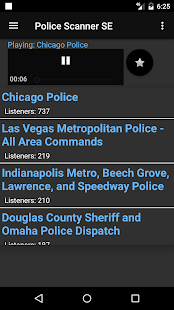 Police Radio Scanner SE- screenshot thumbnail