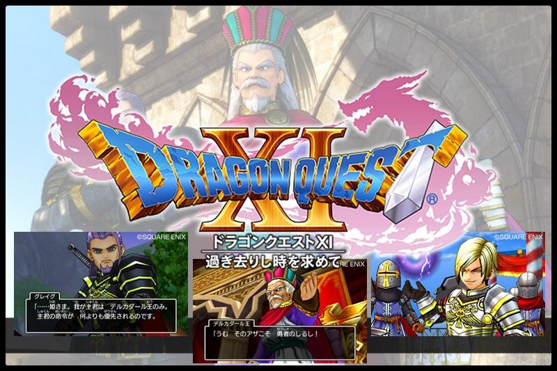 [Dragon Quest XI] ข้อมูลตัวละครใหม่!