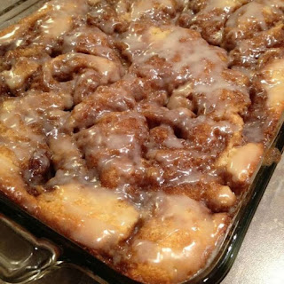 Best Cinnamon Bun Cake.