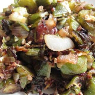 Onion & Okra Saute Recipe