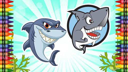 图画书的鲨鱼