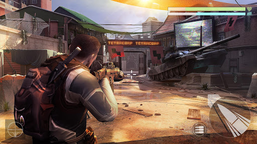 Cover Fire: free shooting games game (apk) free download for Android/PC/Windows screenshot