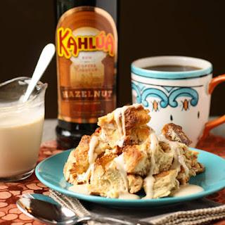 Kahlúa Bread Pudding.
