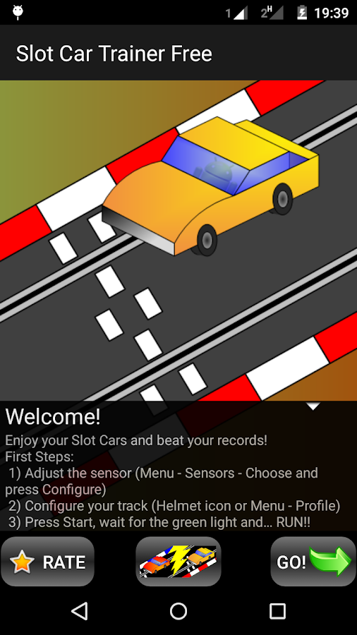 Slot Car Trainer Free- screenshot