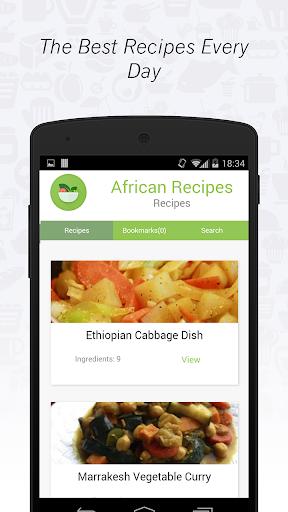 African cuisine: Recipes