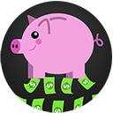 Piggybank Money Clicker Idle Game