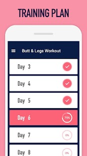 Buttocks workout - Hips, Legs & Butt workout- screenshot thumbnail