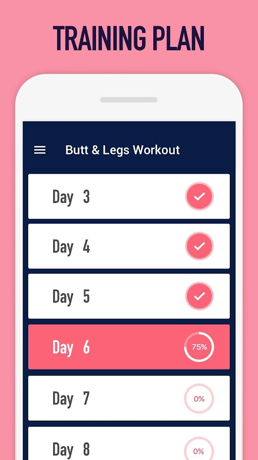 Buttocks workout - Hips, Legs & Butt workout- screenshot