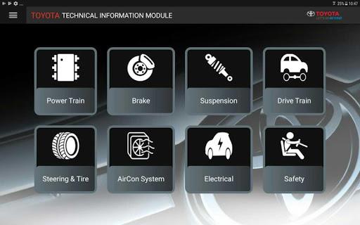 TOYOTA Technical Information Modul screenshot 4