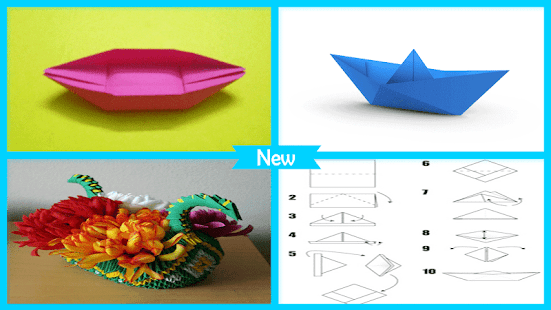 Oirgami Boats Instructions 3D - náhled