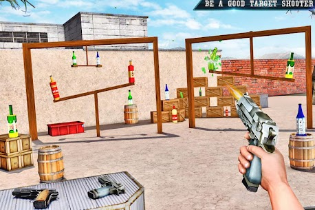Real Bottle Shooting Free Games | New Games 2019 Apk Download 6