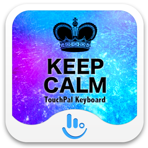 Cool Keep Calm Keyboard Theme