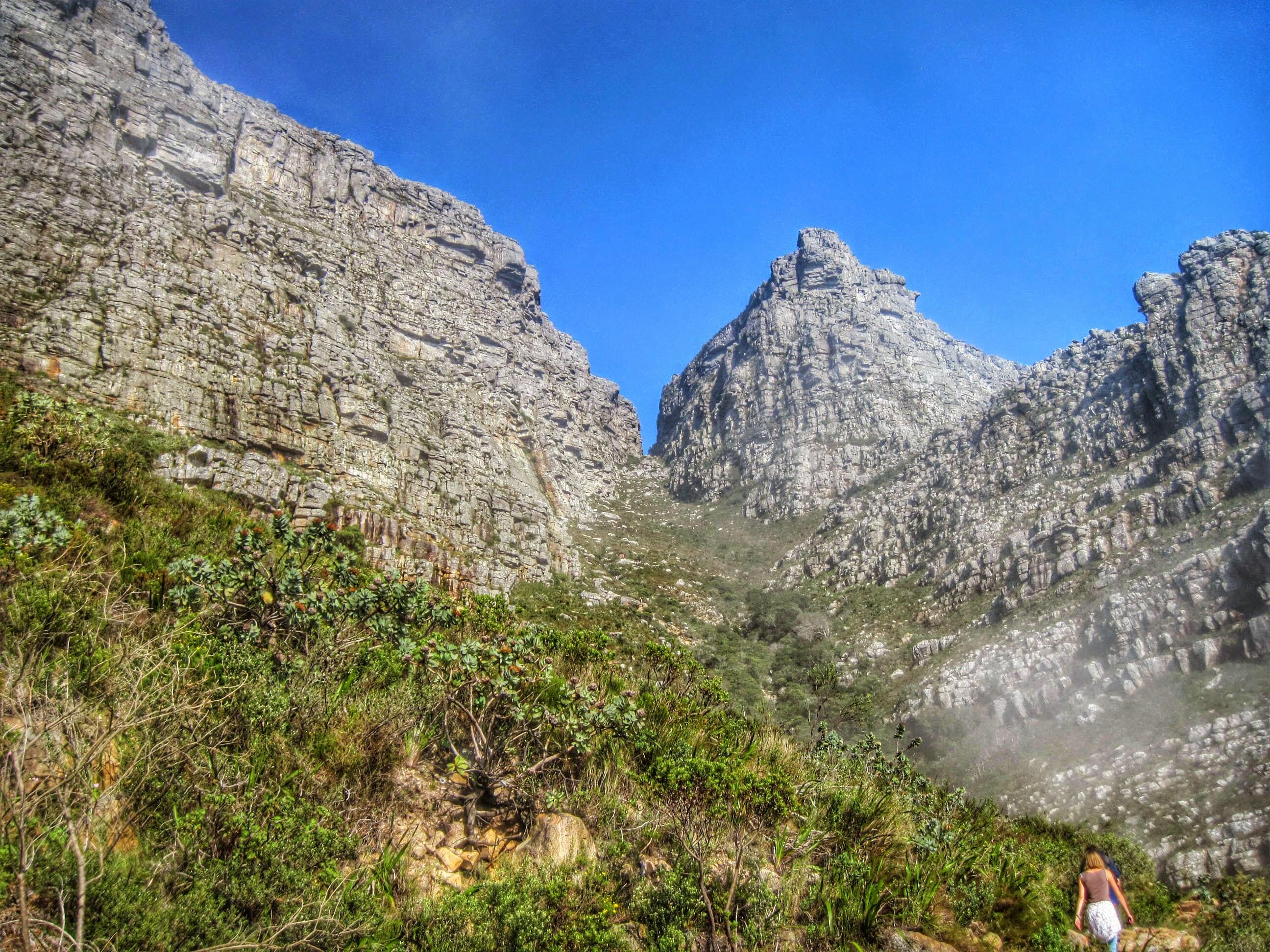 Album Google Plasttekpp Photo Hiking Table Mountain Up Platteklip Gorge