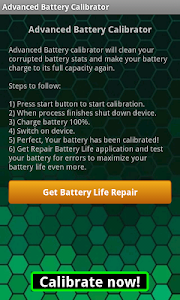 Advanced Battery Calibrator screenshot 0