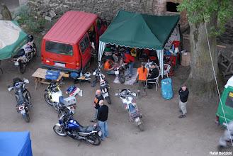 Photo: Szparag-serwis w akcji, widok z dachu