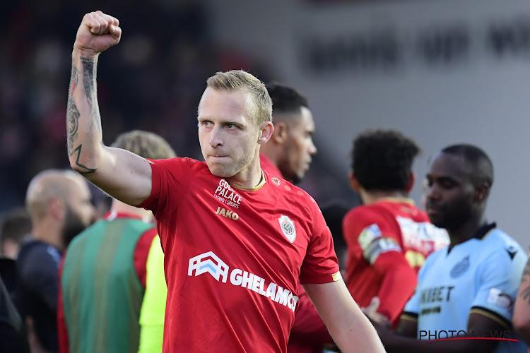 """Er moet De Laet nog iets van het hart voor de Antwerpse derby: """"Ik speelde nooit in dat mottig paars"""""""