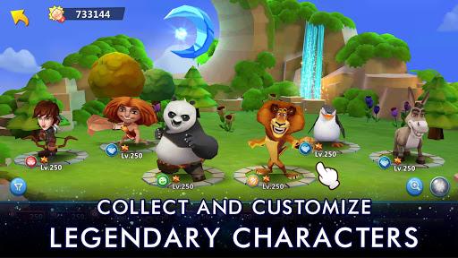 DreamWorks Universe of Legends screenshot 7