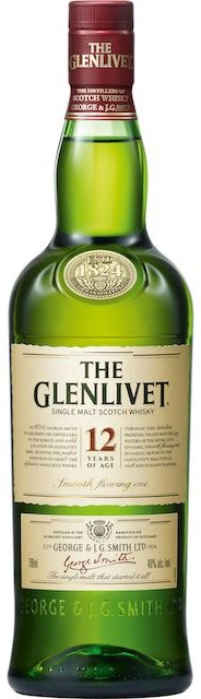 Logo for The Glenlivet 12 Year Old