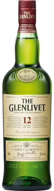 Logo for The Glenlivet 12 Year Old
