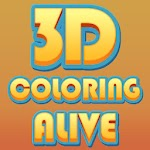 3D Coloring Alive Icon