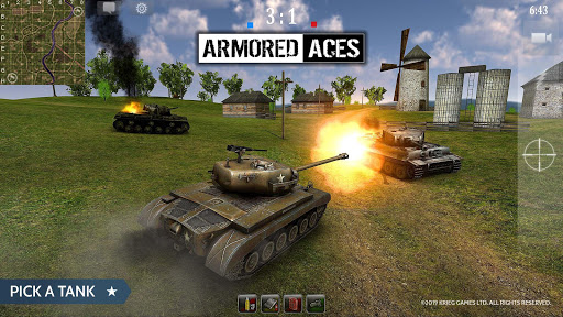 Armored Aces - Tanks in the World War android2mod screenshots 6