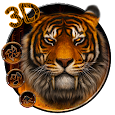3d Forest Tiger King Theme