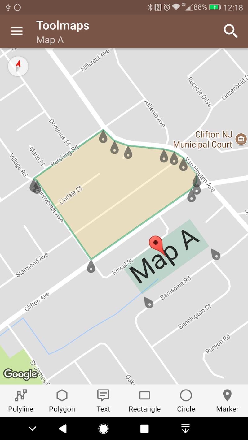 Tools for Google Maps Screenshot 1