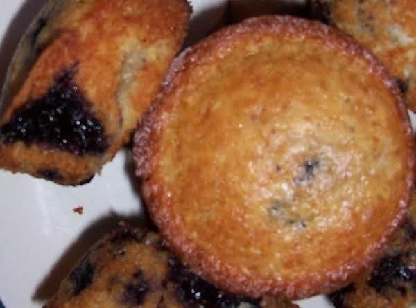 Grandma's Blue Muffins Recipe