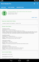 Screenshot of Root Checker Pro