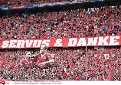 📷 🎥 41 goals op slotspeeldag: Robben en Ribéry luisteren afscheidsmatch Bayern op met titel én doelpunt
