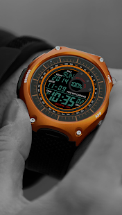 A40 WatchFace for Android Wear Smart Watch- screenshot thumbnail