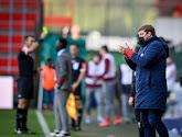 """Un Hein Vanhaezebrouck bon perdant souligne la performance des jeunes Rouches  : """"Ils l'ont fait et chapeau à eux"""""""