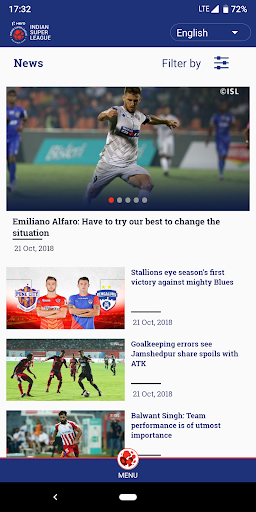 Indian Super League - Official App 7.5 screenshots 5