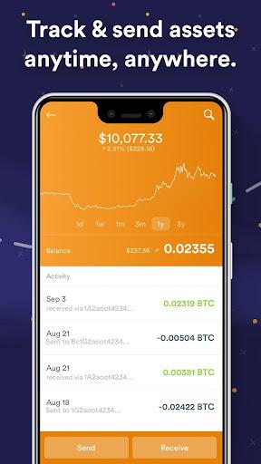 BRD Bitcoin Wallet. Cryptocurrency, Bitcoin Cash 4.4.3 Screenshots 3