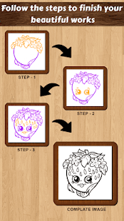 Learn to draw Shopkins - náhled