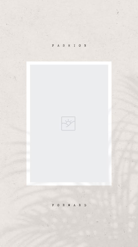 Palm Shadow Blank - Facebook Story Template
