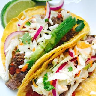 21 Day Fix Instant Pot Flank Steak Tacos Recipe