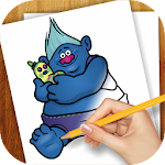 Learn to Draw Trolls Icon