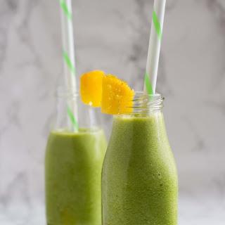 Green Tea Smoothie.