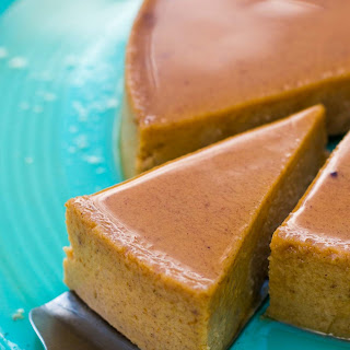 Maple Pumpkin Flan.