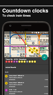 New York Subway – MTA map and routes of NYC Subway- screenshot thumbnail