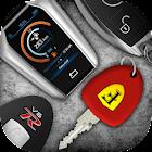 Autoschlüssel und die Geräusche von Motoren icon